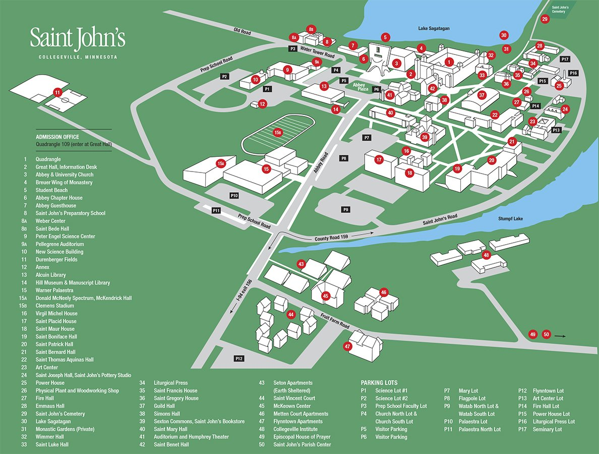 St Johns Campus Map.Maps Directions Summer Dialogue